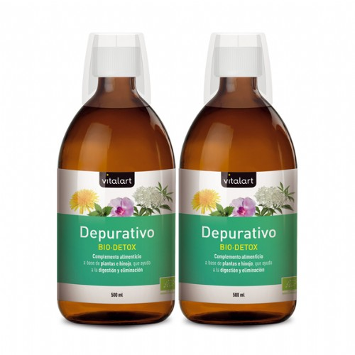 Vitalart Depurativo BIO DETOX (500 ml) Pack 2u