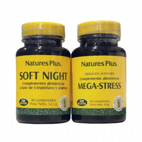 Nature's Plus Pack Mega-Stress 30cmp + Soft Night 30cmp