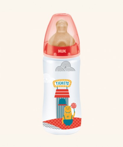BIBERON FC + PP LATEX - NUK FANTASY (1M 300 ML)