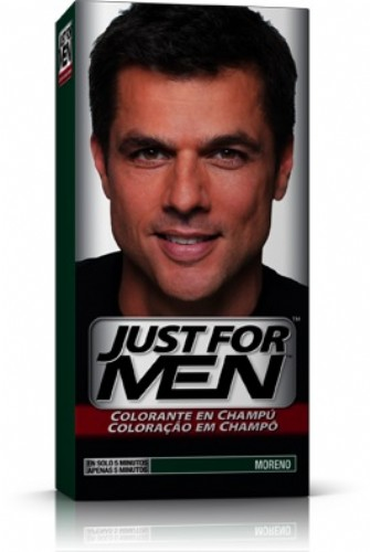 JUST FOR MEN - CHAMPU COLORANTE (66 CC MORENO)