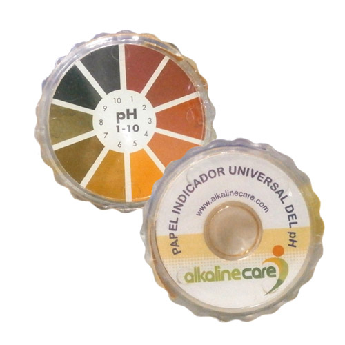 PAPEL INDICADOR DE PH 5 M. ALKALINE CARE