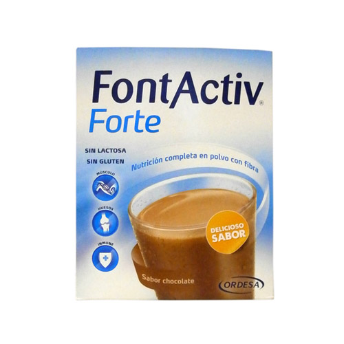 FONT ACTIVE FORTE CHOCOLATE 14 SOBRES ORDESA