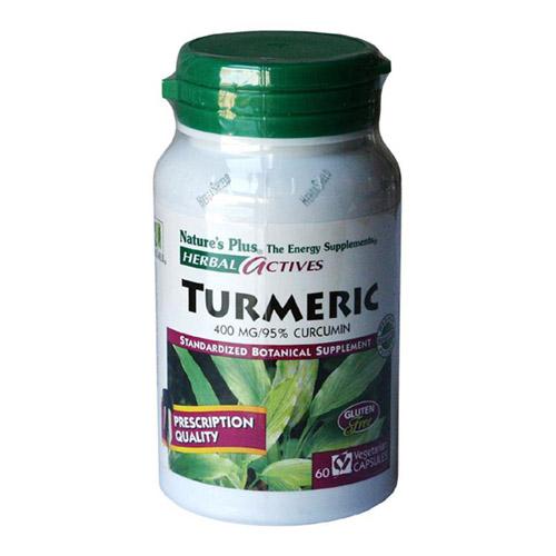 CÚRCUMA (TURMERIC) 60 CAP. NATURE'S PLUS