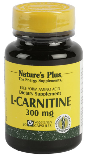 L-CARNITINA 300mg 30 CAP. NATURE'S PLUS