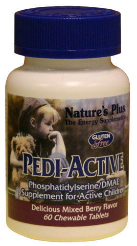 PEDI-ACTIVE 60 CMP. NATURE'S PLUS