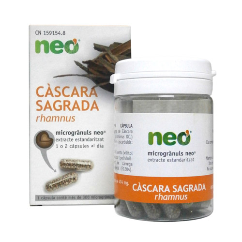 CÁSCARA SAGRADA MICROGRÁNULOS 45 CAPS. NEO