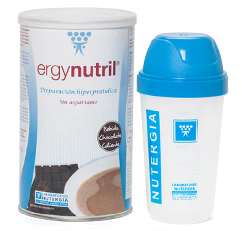 ERGYNUTRIL CHOCOLATE 350 GR. NUTERGIA