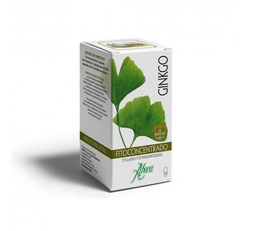 Ginkgo Fitoconcentrado Aboca (500 Mg 50 Caps)
