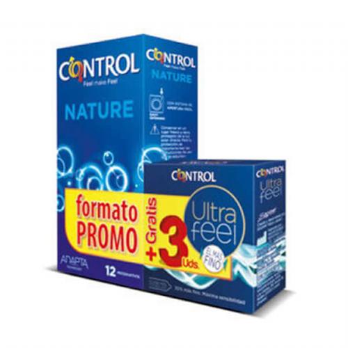 Control Adapta Nature Preservativos (12 U)