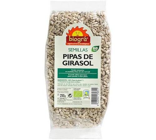 Girasol semillas bio 250gr
