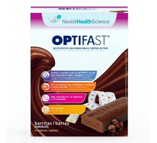 OPTIFAST BARRITAS (70 G 6 BARRITAS CHOCOLATE)