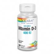 Solaray Vitamina D3 400UI  120 perlas