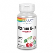 Solaray Vitamina B12 1000 + Ac. Folico 90 cp