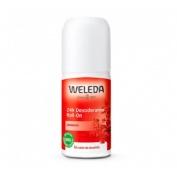Weleda Granada 24 H Desodorante (Roll On 50 Ml)