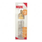 Biberon Pp Latex Nuk First Choice (300 Cc Leche T-1 M)