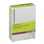 Pranarom Oleocaps 6 Piernas ligeras y confort circulatorio 30 cap