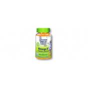 Chewy Vites Omega 3 + Multivitaminas (Ositos 60 U Sabor Naranja)