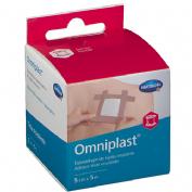 Esparadrapo Hipoalergico Omniplast (Tejido Resistente 5 M X 5 Cm)