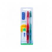 Cepillo Dental Adulto Vitis (Suave Duplo)
