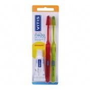 Cepillo Dental Adulto Vitis Access (Medio Blister 2 U)