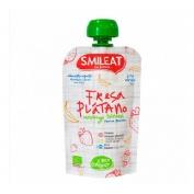 Smileat bebible fresa platano 100g + 4m