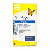 Tiras Reactivas Glucemia Freestyle Optium (100 U)