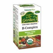 B Complex Garden Natures Plus 60 capsulas