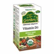 Vitamina D3 Garden Natures Plus 60 comprimidos
