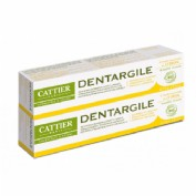 Cattier Dentargile Pasta Dental Limon Pack duplo