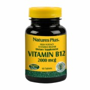 Nature's Plus Vitamin B12 2000mcg 60 tabletas