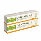 Cattier Dentargile Pasta Dental Salvia Pack duplo