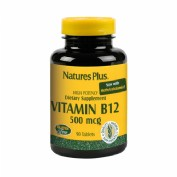 Nature's Plus Vitamin B12 500mg 90 tabletas