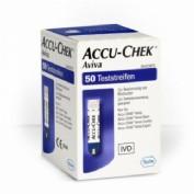 TIRAS REACTIVAS GLUCEMIA - ACCU-CHEK AVIVA (50 TIRAS)