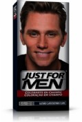 JUST FOR MEN - CHAMPU COLORANTE (66 CC CASTAÑO CLARO)