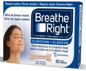 BREATHE RIGHT - TIRA ADH NASAL (T- GDE 10 U)