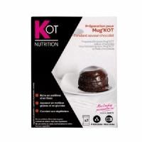 Preparación para MUG KOT sabor chocolate