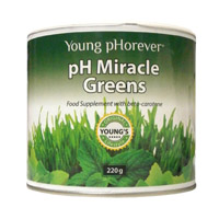 PH MIRACLE GREENS 220 GR. ALKALINE CARE