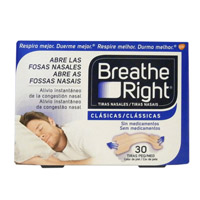 BREATHE RIGHT CLÁSICAS 30 UNIDADES T-G