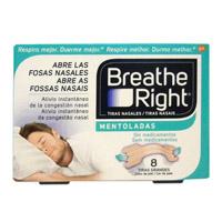 BREATHE RIGHT MENTOLADAS 8 UNIDADES T-G