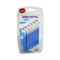 CEPILLO ESPACIO INTERPROXIMAL - INTERPROX PLUS (CONICO 6 U)