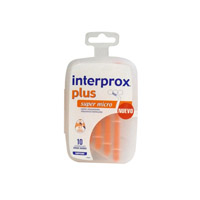 CEPILLO ESPACIO INTERPROXIMAL - INTERPROX PLUS (SUPER MICRO ENVASE AHORRO 10 U)