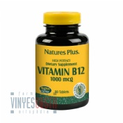 Nature's Plus Vitamina B-12 1000mcg 90 tabletas.