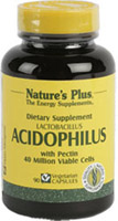 ACIDOPHILUS 90 CAP. NATURE'S PLUS