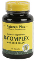 B-COMPLEX 90 CMP. NATURE'S PLUS