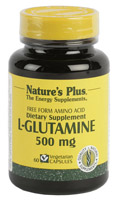 L-GLUTAMINA 500mg 60 CAP. NATURE'S PLUS