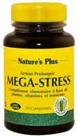 MEGA-STRESS 30 CMP. NATURE'S PLUS