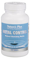 Nature's plus metal control 120 tab.
