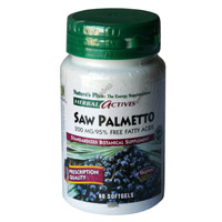 PALMITO SALVAJE ( SAW PALMETTO) 60 PER. NATURE'S PLUS