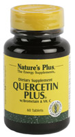 Nature's Plus Quercetin Plus 60 tabletas