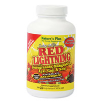 RED LIGHTNING 180 CAP. NATURE'S PLUS